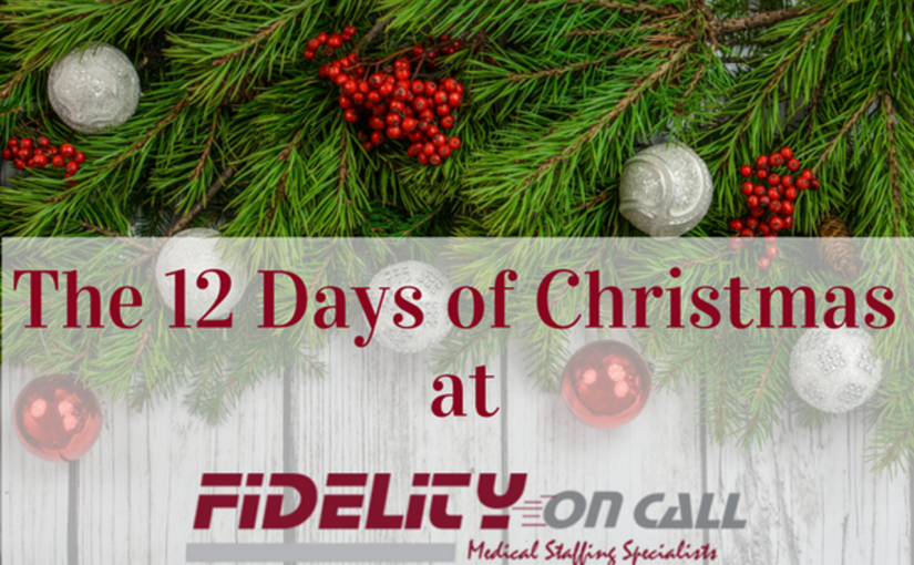 The 12 Days of Christmas at Fidelity on Call