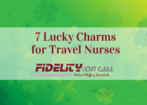 7 Lucky Charms for Travel Nurses blog image