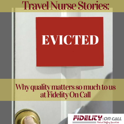 travel nurse stories evicted blog image