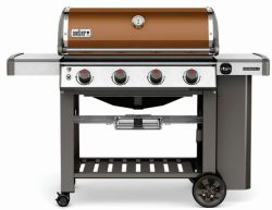 Get Fired Up Contest Weber Genesis II Copper 4-Burner Liquid Propane Gas Grill
