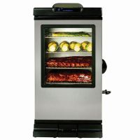 Get Fried Up Contest John McLemore Signature Series 800-Watt Stainless Steel Electric Vertical Smoker