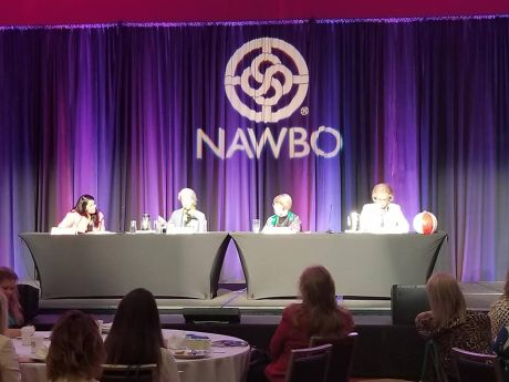 panel of women business owners at NAWBO 2018 conference
