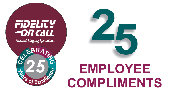 25 Employee Compliments - Fidelity On Call