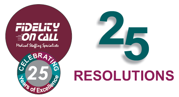25 New Year' Resolutions