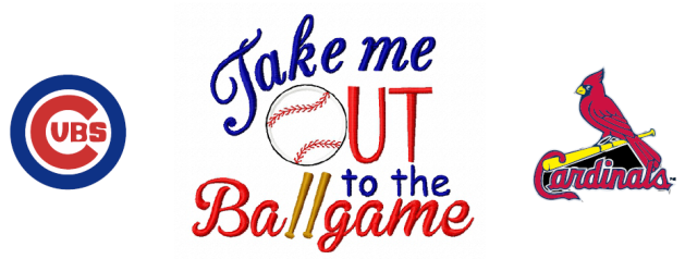 Take Me Out to the Ballgame Contest Logo-629