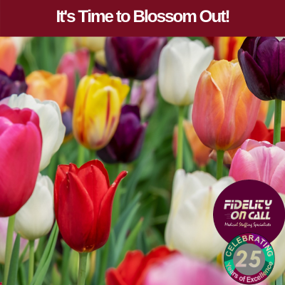 It's Time to Blossom Out this Spring!