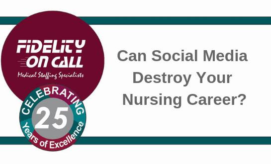 Can Social Media Destroy Your Nursing Career?