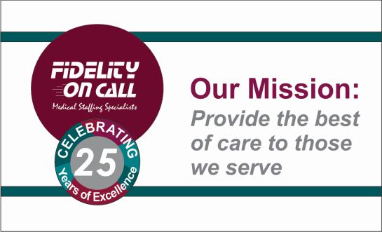 Our Mission at Fidelity On Call