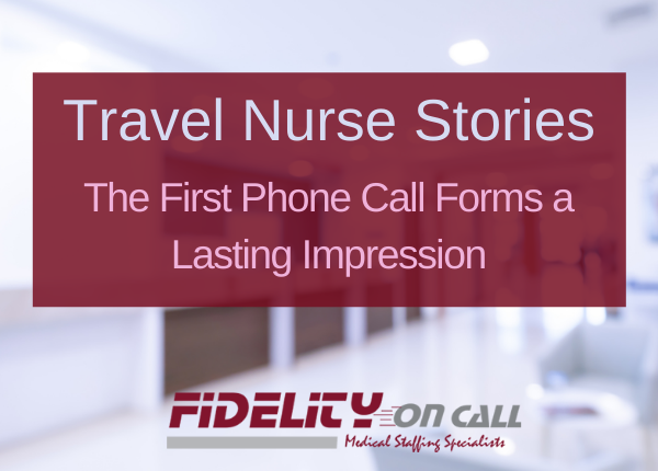 The First Phone Call Forms a Lasting Impression